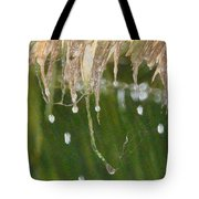 Tropical Bali Rain Tote Bag