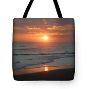 Tropical Bali Sunset Tote Bag