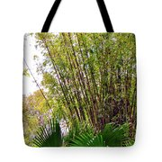 Tropical Bamboo Tote Bag