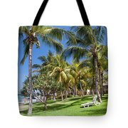 Tropical Beach I. Mauritius Tote Bag