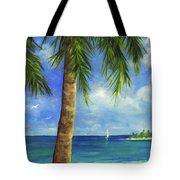 Tropical Beach One Tote Bag