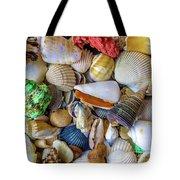 Tropical Beach Seashell Treasures 1550b Tote Bag