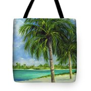 Tropical Beach Two Tote Bag