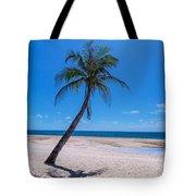 Tropical Blue Skies And White Sand Beaches Tote Bag