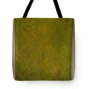 Tropical Palms Canvas Green - 16x20 Hand Painted Tote Bag