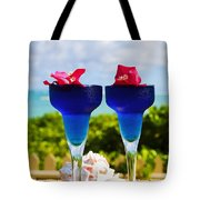 Tropical Cocktails Tote Bag