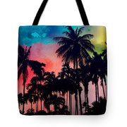 Tropical Colors Tote Bag