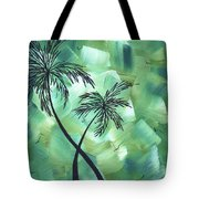 Tropical Dance 3 By Madart Tote Bag