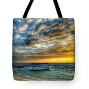 Tropical Dawn Tote Bag
