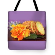 Tropical Delight Still Life Tote Bag