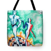 Tropical Fire - Passion And Fire Tote Bag