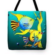 Tropical Fish Fun Tote Bag