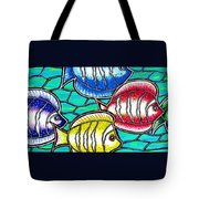 Tropical Fish Swim Tote Bag