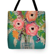 Tropical Flair Tote Bag