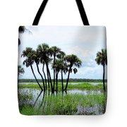 Tropical Flooding Tote Bag