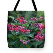 Tropical Flower Flow Tote Bag