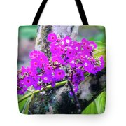 Tropical Flowers Of Costa Rica Tote Bag