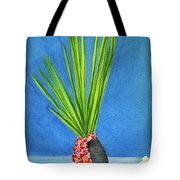 Tropical Flowers Still Life #218 Tote Bag