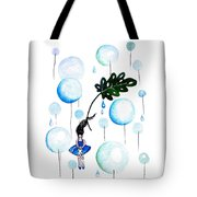 Tropical Fly Tote Bag