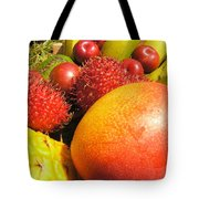 Tropical Fruit Delight Tote Bag