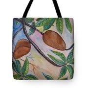 Tropical Fruit Mamey Tote Bag