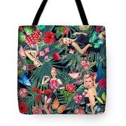 Tropical Fun Sexy  Tote Bag
