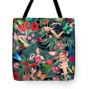 Tropical Fun Sexy  Tote Bag