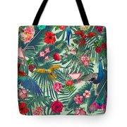Tropical Fun Time  Tote Bag by Mark Ashkenazi