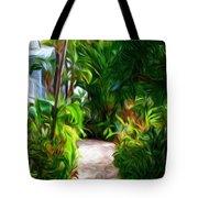 Tropical Garden Passage Tote Bag