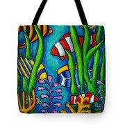 Tropical Gems Tote Bag by Lisa  Lorenz