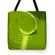 Tropical Green Tote Bag