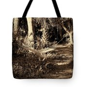 Tropical Hammock Tote Bag