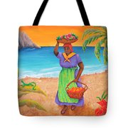 Tropical Harvest Tote Bag