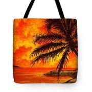 Tropical Heat Tote Bag