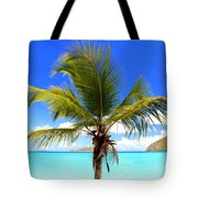 Tropical Island Tote Bag
