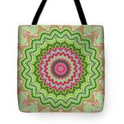 Tropical Kaleidoscope Tote Bag