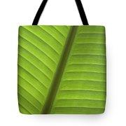 Tropical Leaf Detail Tote Bag