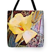 Tropical Lilly Tote Bag
