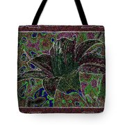 Tropical Lily 3 Tote Bag