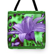 Tropical Lily 4 Tote Bag