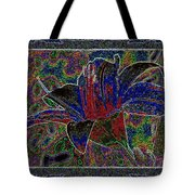 Tropical Lily 5 Tote Bag