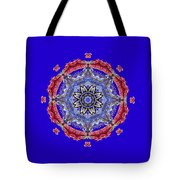 Tropical Mandala By Kaye Menner Tote Bag