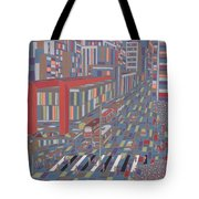 Tropical Masp Tote Bag