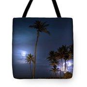 Tropical Moon Tote Bag