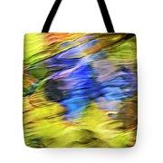 Tropical Mosaic Abstract Art Tote Bag