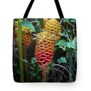 Tropical Mystery Plant Tote Bag