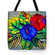 Tropical Neon Boutique  Tote Bag