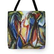 Tropical Palm Rhumba Tote Bag