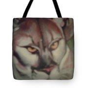 Tropical Panther Tote Bag
