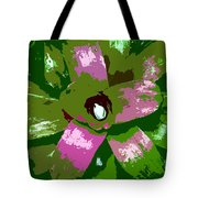 Tropical Plant Work Number 5 Tote Bag
